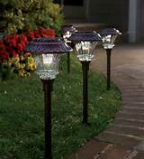... garden solar path lights solar lights outdoor Use solar path lights to