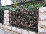Garden fence design ideas metal garden fence design ideas home Garden ...