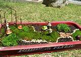 our newest creation the rainbow gardens radio flyer fairy garden all