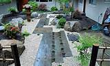 gardening the exciting design of the zen garden designs with the gray