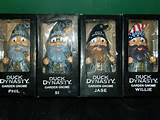 NEW DUCK DYNASTY GARDEN GNOMES Willie Jase Si Phil Complete set