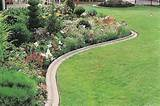 lawn edging ideas - concrete edging3 [736x489] | FileSize: 164.29 KB ...