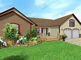 put a new deck onto the front of your house add brick facing plant a