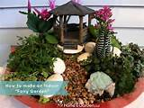 DIY Indoor Fairy Garden - DIY Garden So cute :)