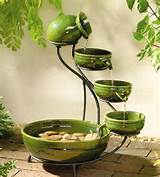 outdoor garden decor wall fountains