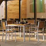 have to have it oxford garden travira teak patio dining set seats 4