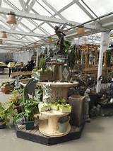 garden center ideas – sculptures add to the fairy garden display at ...