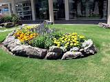 outdoor design rock gardens on slopes cool flowers and rock gardens