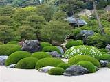 japanese rock gardens zen picture