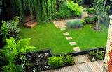 garden ideas with small pond wooden pathways 43931 small home garden