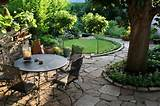 Garden, Inspiring Small Yard Landscaping Ideas With Small Patio Design ...