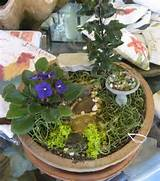 mini garden 6 600x681 Mini Fairy Garden ideas