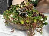 handmade custom fairy garden 800x600 Miniature Gardens News Articles ...