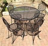 patio ideas : patio furniture simple cute wrought iron patio furniture ...