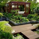 modern garden design photos modern garden pictures modern garden ...