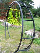 moonbeam metal garden arch