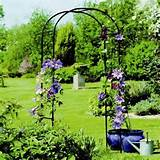 garden arbor outdoor arch trellis yard patio new wedding vinyl x white