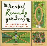 medicinal herbs along with illustrated garden plans to suit any space