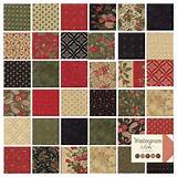 ... Christmas 3 Sisters Moda Quilt Fabric Jelly Roll 2 5