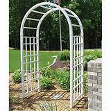 of Iron Arches for Garden - Wooden Trellis Arches, Arch Arbors, Arched ...