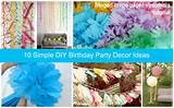decoration ideas - simple diy party decor ideas simple diy party decor ...