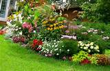 check out other gallery of small front yard flower garden ideas
