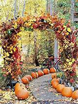fall wedding and decorating ideas love this fall wedding aisle using ...
