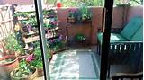 Garden Patio, Small condo patio with a garden, Condo patio with garden ...