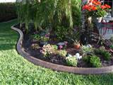 concrete landscape edging