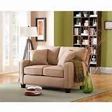 better homes and gardens trenton loveseat beige furniture walmart