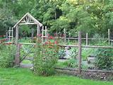 vegetable garden fence ideas productive and beautiful vegetable garden ...