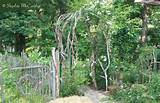 Lovely Garden.....Twig_Rose_Arch_Gate