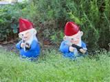 Ha ha. Combat Garden Gnomes