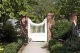 decorative garden fences outdoor info
