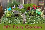 interactive fairy gardens are a magical space for children to play and ...