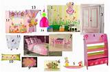moodboard for girls room decor butterfly fairy garden theme