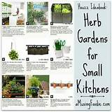 Herb Gardens for Small Kitchens | @Houzz Ideabook | (a)Musing Foodie