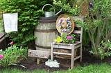 Whiskey Barrel Planter Ideas | ... herb garden - Garden Designs ...