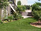 under Deck with Retaining Wall & Steps - Minnesota Landscaping Ideas ...