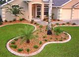 Careful designing of the front yard can make it low maintenance.