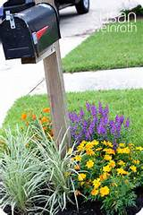 Mailbox Landscaping on Pinterest | Mailbox Garden, Driveway Ideas and ...