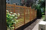 Fancy Wooden Trellis Garden | 333102 | Home Design Ideas