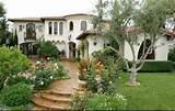 fotos de jardin jardines con portones de casas