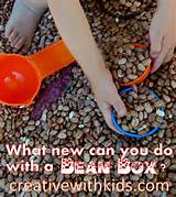 full of beans 8 fun sensory activities for the bean box