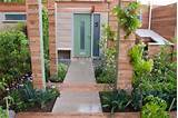 front yard urban vegetable garden house townhouse garden with kale