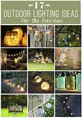 17+ Outdoor Lighting Ideas for the Garden | Scattered Thoughts of a ...
