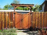 Wood Fence Gate Designs for Your Garden Plans | amranDecor