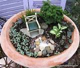 gardening mini fairy garden ideas pinterest