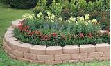 anchor windsor stone retaining wall and garden border