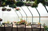 Greenhouse Garden Wedding Ideas